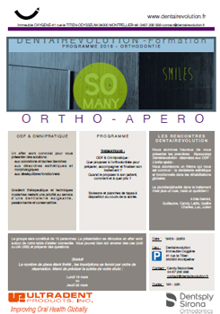 Formation ORTHO - APERO